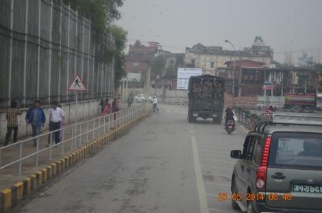 1. Kathmandu in the early morning hours