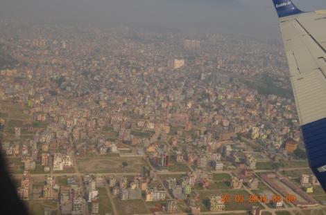 Kathmandu City from sky