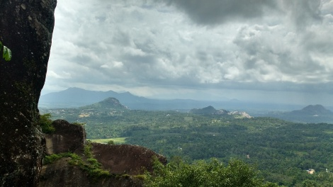 View from the top at Edakkal Caves