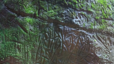 Stone age carvings
