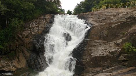 Milky Kanthanpara Waterfalls