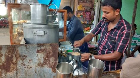Thattukada style tea