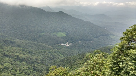 Thamarassery Ghat Section view