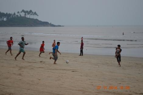 Play football on Palolem