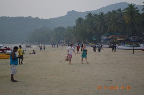 Take an evening walk on beach