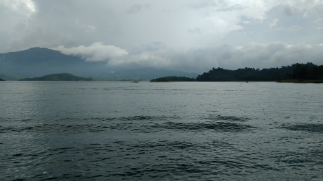 Serene, Sublime reservoir of Banasura Sagar.