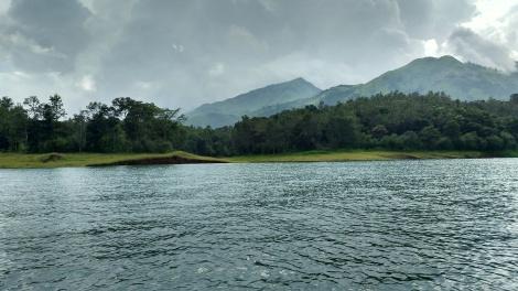 Banasura Sagar Hills.