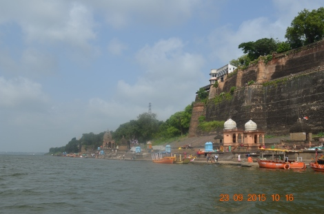Vistas from boat ride