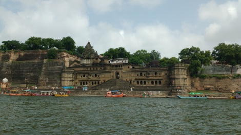 The panoramic view of the Ghats